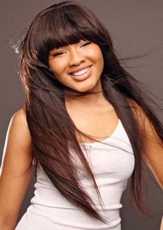 Silky Super Soft Last Long 100% Indian Human Hair about 24 Inches Straight Wig : wigsbuy.com