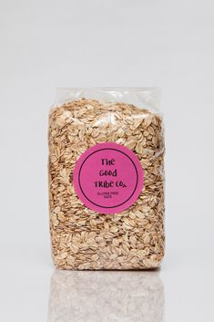 The Good Tribe Co's Gluten free oats are a perfect alternative for your breakfast. These oats will give you lasting energy for your busy day and are a great way to add dietary fiber to your diet. There is a wide range of uses from overnight oats, a creamy bowl of oat porridge, oat balls or flap jacks. Gluten Free Oats, Overnight Oats, Dog Food Recipes, Balls, Grains, Fiber, Alternative, Range, Good Things