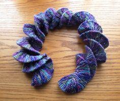 crochet curly scarf pattern | Potato Chip Scarf Pattern
