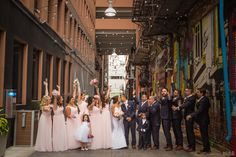 Cheering bridal party in Detroit Z Lot alley #Michiganwedding #Michiganwedding #Chicagowedding #MikeStaffProductions #wedding #reception #weddingphotography #weddingdj #weddingvideography #wedding #photos #wedding #pictures #ideas #planning #DJ #photography #bride #groom