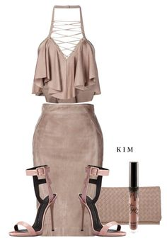 """Untitled #3148"" by kimberlythestylist ❤ liked on Polyvore featuring Balmain, Giuseppe Zanotti and Abro"