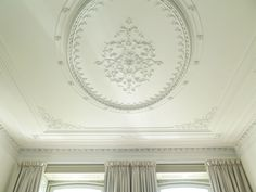 Beautiful stucco ceiling.    #LuxuryHouse   #HousesWithHistory   #Stucco  #Ceiling   #DreamHome