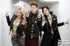 HyoYeon & Henry & Yuri