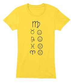 Virgo Love Tees Light Sunshine T-Shirt Front