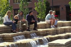 I like the incorporation of water. Jamison Square/ Portland, Oregon/ PWP Landscape Architecture