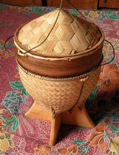 Thai Sticky Rice Serving Basket
