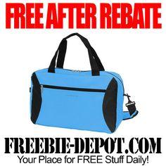 FREE AFTER REBATE – Ez-Expand Carry-All Bag – FREE Blue Duffel Bag – Exp 5/18/15  #freebate