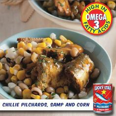 Here's a fishy twist on a classic South African meal. Why not try out this recipe for dinner today?  Click here for this one and many other Lucky Star recipes: https://www.facebook.com/photo.php?fbid=558646044222781&set=a.521247361295983.1073741837.302222999865088&type=3&theater