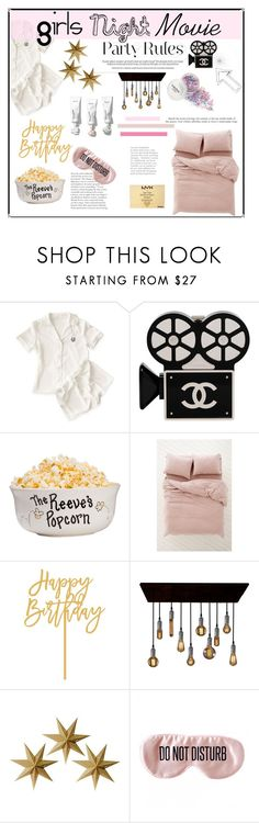 """""""Untitled #243"""" by starlie16 on Polyvore featuring Mark & Graham, Chanel, Urban Outfitters, LumaBase, BaubleBar, NYX and slumberparty"""