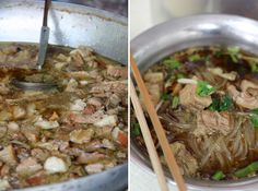 Fall-Apart Tender Beef Noodles at Udom Suk (Kuay Teow Neua Toon ก๋วยเตี๋ยวเนื้อตุ๋น)
