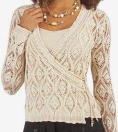 Модели вязания со схемами и описаниями: Пуловеры и свитера