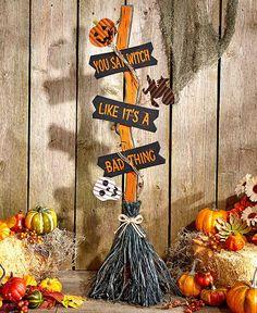 Halloween Witch's Brooms
