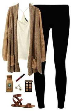 Brown Beige And Nude Colors | Cute College Outfit ideas To Match Your Natural Makeup