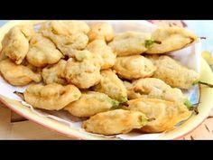Zucchini Blossom Fritters - Wonderful Recipe - Italian Cook Laura Vitale - EverybodyLovesItalian.com