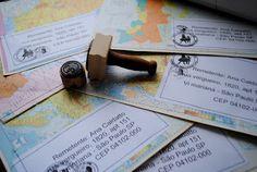 Envelope Alterados MAPS - Mail Art