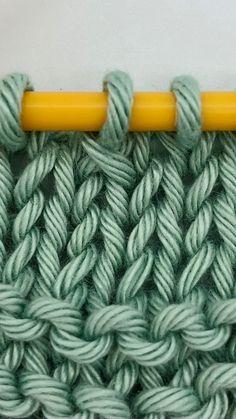 was heißt beim stricken betont abnehmen