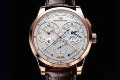 JAEGER-LECOULTRE: Duomètre à Chronographe, zwei getrennte Räderwerke für Uhr und Chronograf – Preis: 28 500 Euro