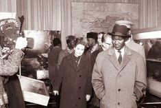 Ahmed Sékou Touré na obisku v Ljubljani 1961. (Jugoslávia, 1961).