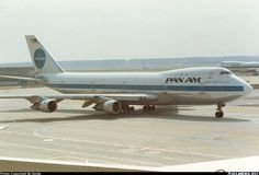 Pan American, Boeing 747-121, N739PA, 'Clipper Maid of the Seas'. Was brought down by a terrorist bomb over Lockerbie, Scotland on December 21, 1988