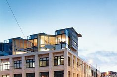 Three new apartments on top of the historic building