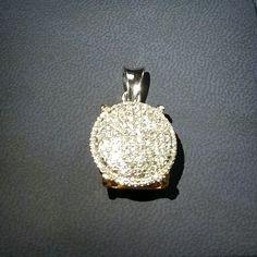 Liontin emas berlian Mode Bulat Lebar. Hrg cuci gudang. Toko Perhiasan Emas Berlian-MJ,Jakarta +628119919088/DC9E309C Cp.Dewi #emas#berlian#investasi#gold#fashion