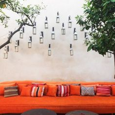 28 rooms, swinging hammocks, design awards and a cool pool make this Moroccan boutique hotel ripe for a group getaway.