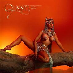 Nicki Minaj has released her highly anticipated fourth full-length album Queen. The album includes features from Eminem Lil Wayne Ariana Grande and is available at all digital retailers Foxy Brown, Travis Scott, Eminem, Chun Li, Barbie Dream, Lil Wayne, Albums Queen, Nicki Minaj Album Cover, Disco Queen