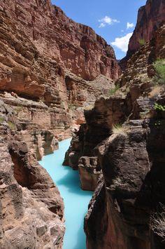 Havasu Turquoise Waters, Grand Canyon, Las Vegas.  #grandcanyon #lasvegas  Confira aqui pelos melhores preços: http://www.weplann.com.br/las-vegas/grand-canyon