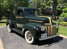 Bid for the chance to own a 1947 Ford Pickup at auction with Bring a Trailer, the home of the best vintage and classic cars online. Stainless Steel Strip, Suzuki Sv 650, Classic Ford Trucks, Ford F Series, Ford Pickup Trucks, Leaf Spring, Steel Wheels, Classic Cars Online, F 1