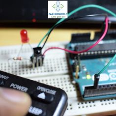 TV Remote Control Hack - Learn how to build a simple circuit with Arduino and IR sensor to decode a TV remote control Electrical Engineering Quotes, Electronic Engineering, Engineering Humor, Engineering Projects, Engineering Technology, Arduino Wireless, Arduino Cnc, Hobby Electronics, Electronics Projects