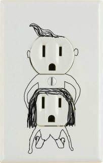Electricians with WAY too much time on their hands....
