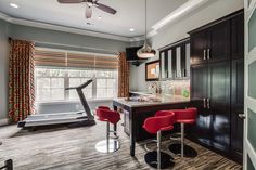 A basement receives a remarkably stunning transformation in Tennessee