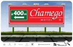 Impressão de papel e exibição de outdoores iluminados às margens de Rodovia SP 255 em Avaré para Chamego Motel | Rodovia João Mellão, km 256 | Avaré – SP – Brasil | Tel (14) 3732.3141 | www.chamegomotel.com.br #chamegomotel #outdoor #valim #avare #brasil