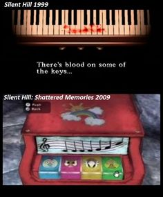 Silent Hill - Piano - Parallel Between Silent Hill 1999 and Silent Hill Shattered Memories 2009