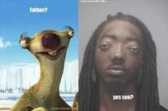 @Elizabeth Cushnie hey i found the real Sid the Sloth!!! hahaha