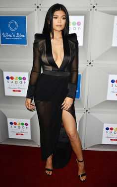 Kylie Jenner at the Sugar Factory Grand Opening in South Beach