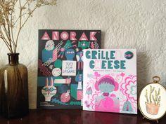 magazine Anorak et Grilled Cheese #kidsmagazines #magazinesjeunesse  http://lesptitsmotsdits.com/mars-le-mois-des-magazines-jeunesse/