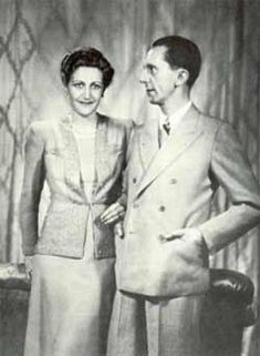 Joseph and Magdan Goebbles