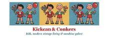 KICKAN & CONKERS - kids, modern vitage living & sunshine galore