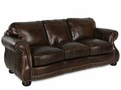 VPLW 8755/30 COWBOY   USA Leather Cowboy Sofa | Mathis Brothers Furniture