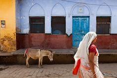Street, Vrindavan by Marji Lang, via Flickr