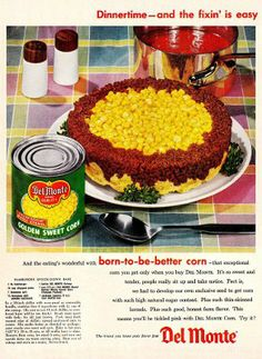 Why wouldn't you just make hamburgers and corn?  Why did everything have to be COMBINED into a disgusting mess?