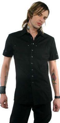 LIP SERVICE Guys Tops short sleeve shirt #49-137-G