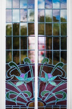 Stained glass windows #PerrierJouet #artnouveau #smalldiscoveries