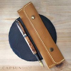 Beautiful ironwood fountain pen handmade by Personality Pens