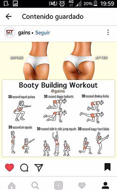 Simple Exercises To Tone Your Butt In No Time - Serena Simple Exercises To . - Simple Exercises To Tone Your Butt In No Time – Serena Simple Exercises To Tighten Your Butt In N - Summer Body Workouts, Gym Workout Tips, Hip Workout, Pilates Workout, Easy Workouts, At Home Workouts, Butt Workouts, Bubble Butt Workout, Workout Schedule