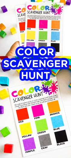 This color scavenger hunt for kids is a great activity. This colorful activity take kids indoors and outdoors looking for all kinds of happy colors. Rainbow Party Games, Rainbow Parties, Rainbow Birthday Party, Kids Party Games, Party Activities, Activities For Kids, Colorful Birthday, Activity Ideas, 21st Birthday