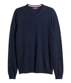 blauer anker pullover, h&m
