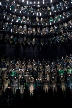 Moncler Grenoble A/W '13 (I interned for this show as well)