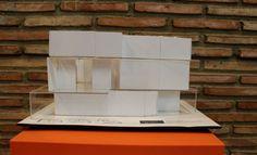 Exposición del seminario de maquetas. Restaurante Bint (proyecto clase)
